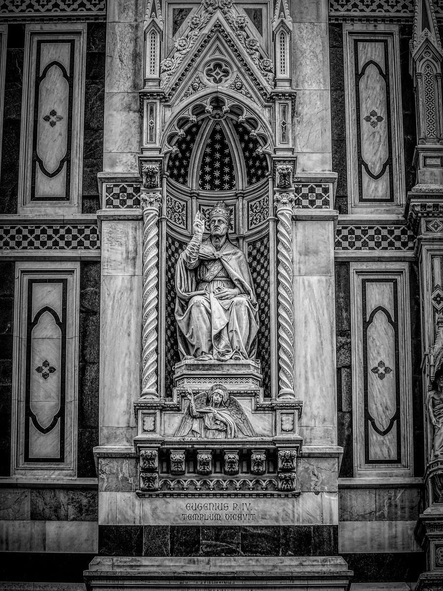 意大利佛罗伦斯主教堂,精雕细琢_图1-16