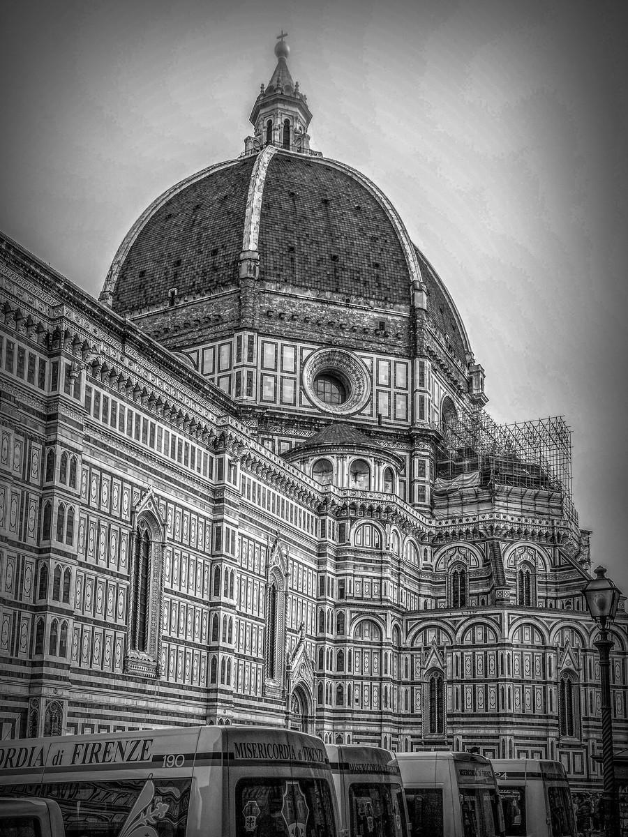 意大利佛罗伦斯主教堂,精雕细琢_图1-19