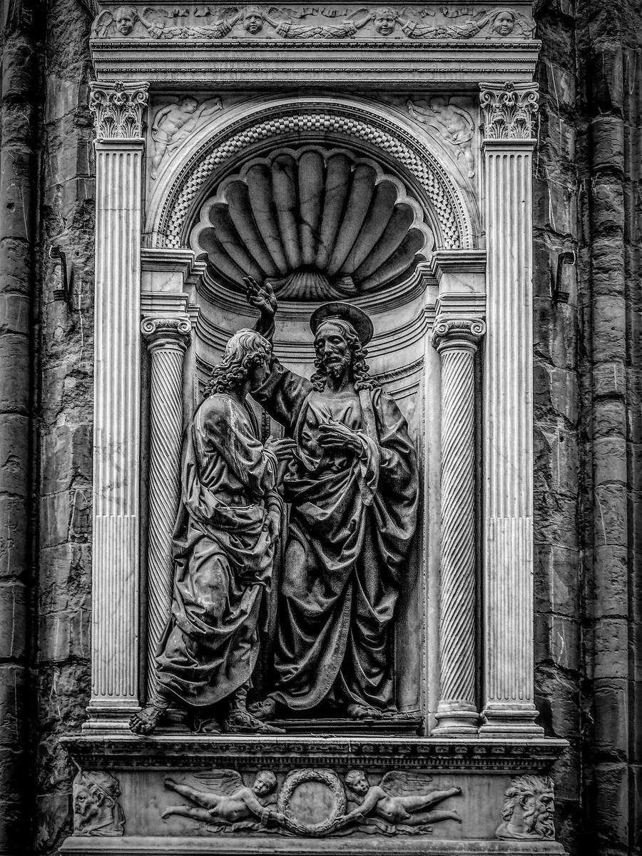意大利佛罗伦斯主教堂,精雕细琢_图1-23