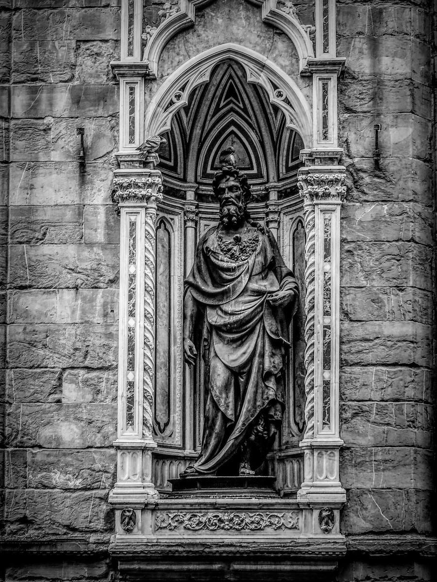 意大利佛罗伦斯主教堂,精雕细琢_图1-24