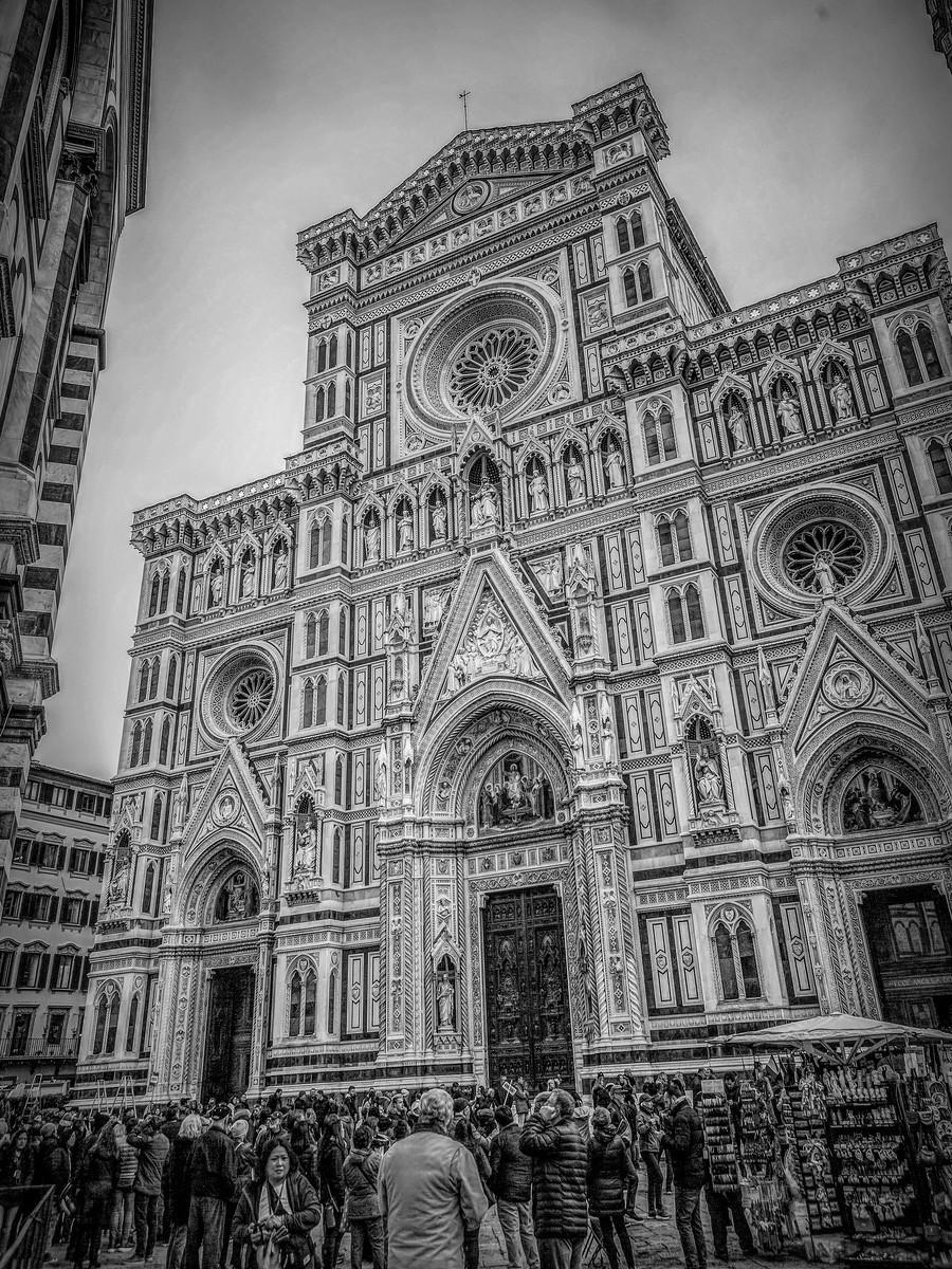意大利佛罗伦斯主教堂,精雕细琢_图1-27