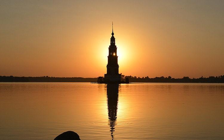 加里亚津被淹的钟楼_图1-1