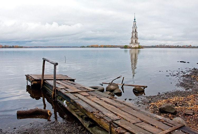 加里亚津被淹的钟楼_图1-3