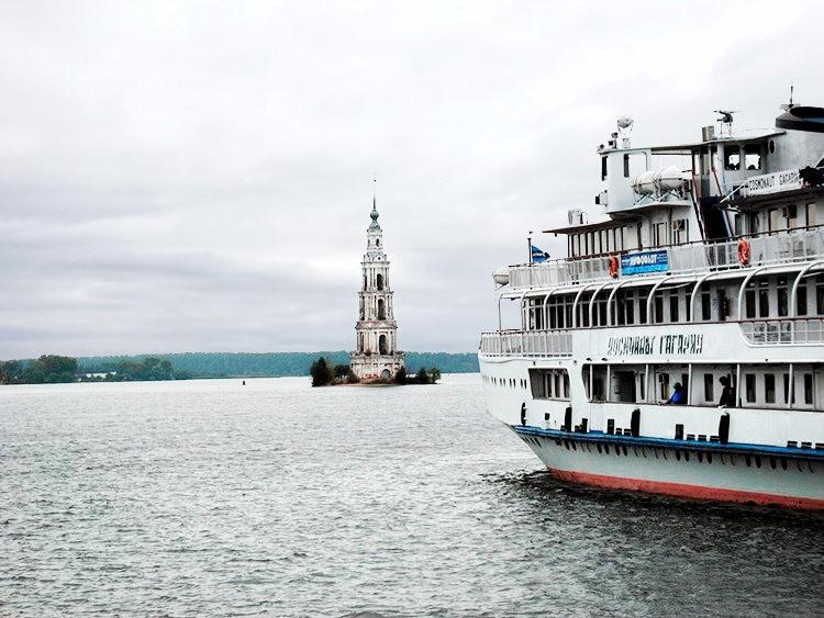 加里亚津被淹的钟楼_图1-4