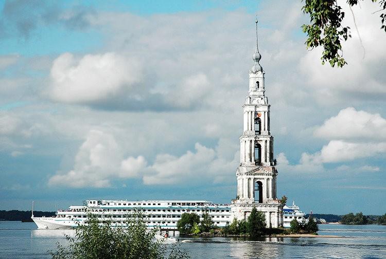 加里亚津被淹的钟楼_图1-5