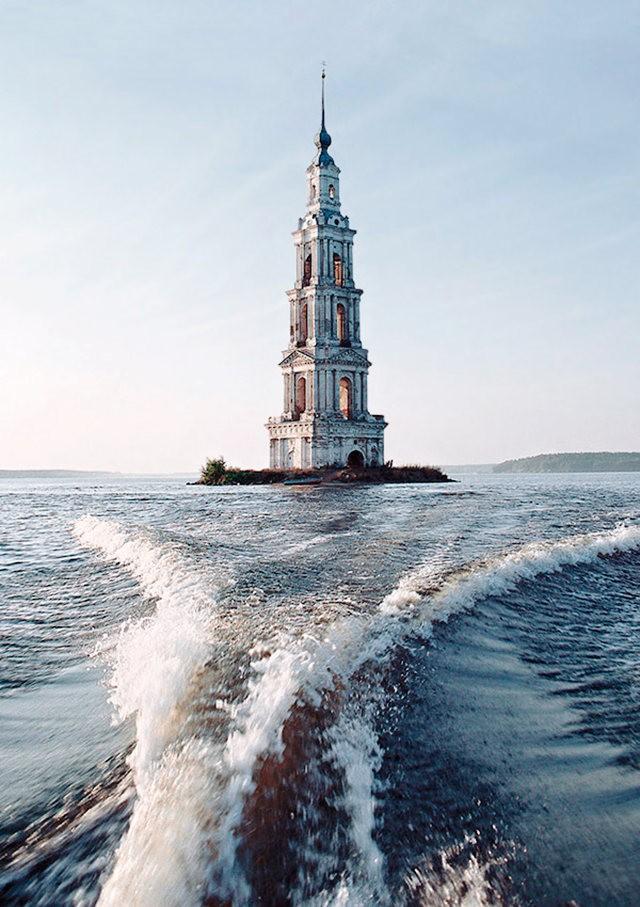 加里亚津被淹的钟楼_图1-6