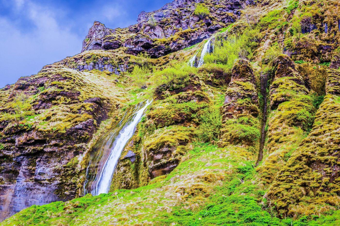 冰岛塞里雅兰瀑布(Seljalandsfoss),飞流直下_图1-10