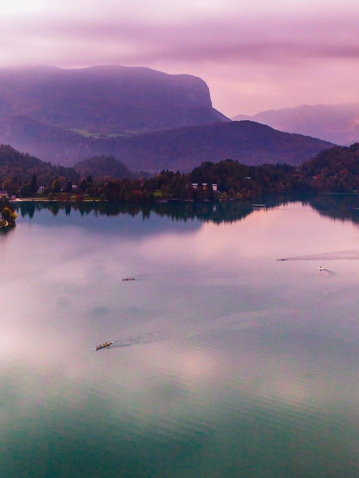 斯洛文尼亚布莱德湖(Lake Bled),清晨湖色_图1-16