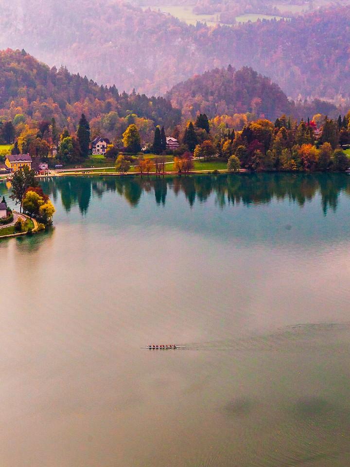 斯洛文尼亚布莱德湖(Lake Bled),清晨湖色_图1-15