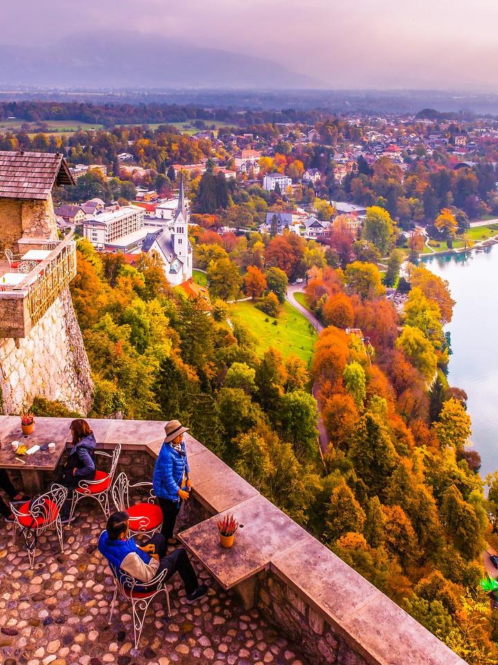 斯洛文尼亚布莱德湖(Lake Bled),清晨湖色_图1-7