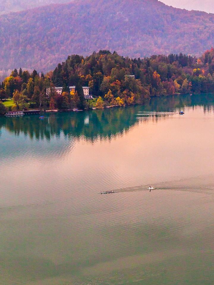 斯洛文尼亚布莱德湖(Lake Bled),清晨湖色_图1-9
