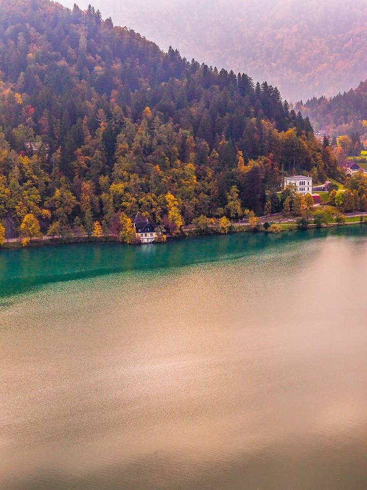 斯洛文尼亚布莱德湖(Lake Bled),清晨湖色_图1-4