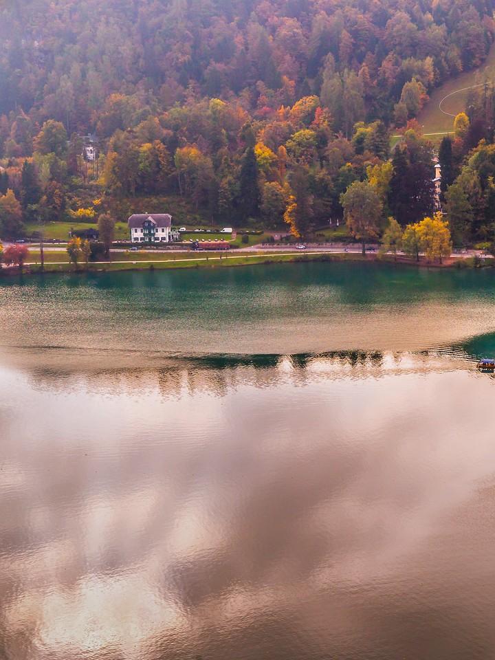 斯洛文尼亚布莱德湖(Lake Bled),清晨湖色_图1-30