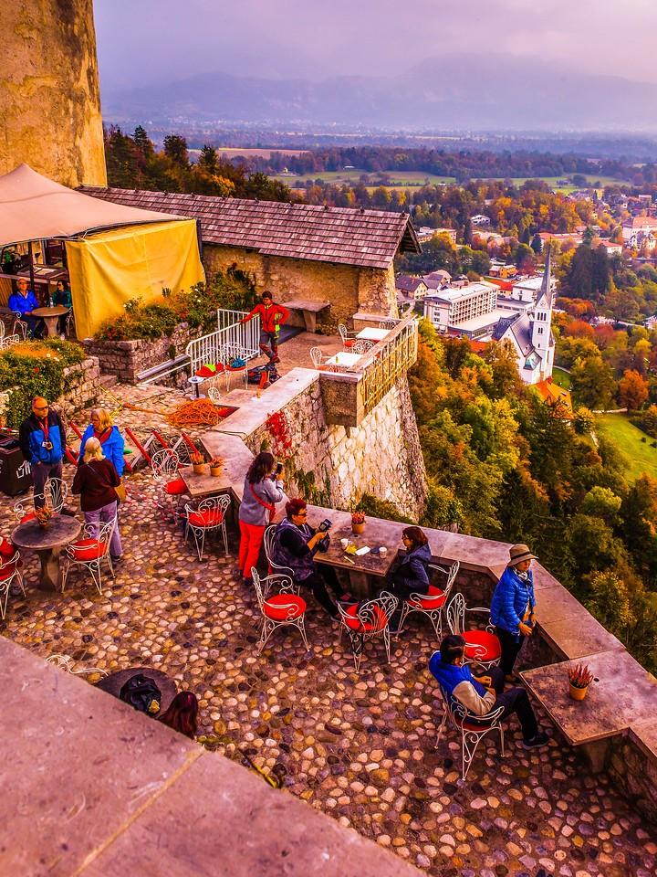 斯洛文尼亚布莱德湖(Lake Bled),清晨湖色_图1-33