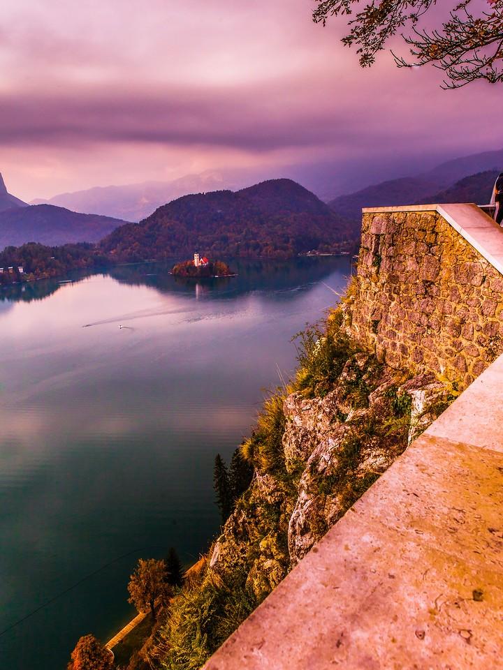斯洛文尼亚布莱德湖(Lake Bled),清晨湖色_图1-40