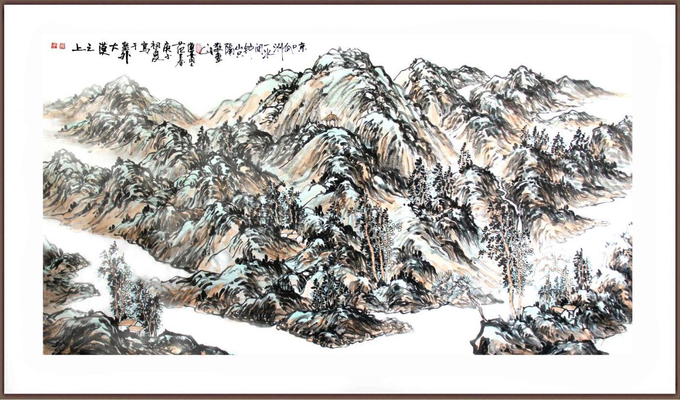 欢迎收藏范建春国画作品_图1-2