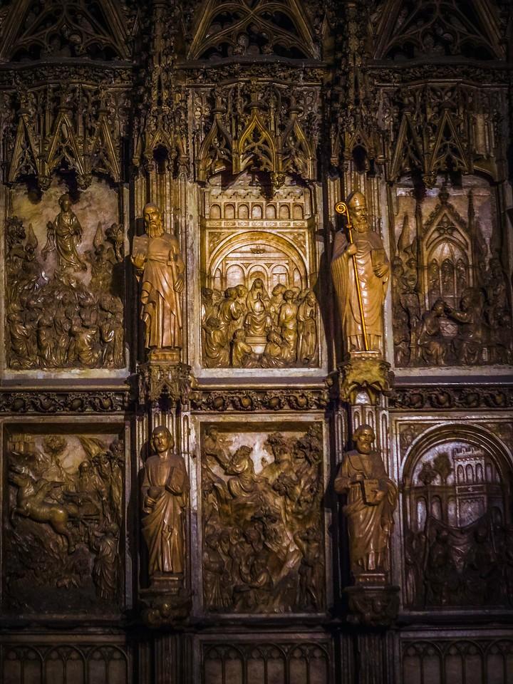 西班牙巴伦西亚主教堂,细细欣赏_图1-24