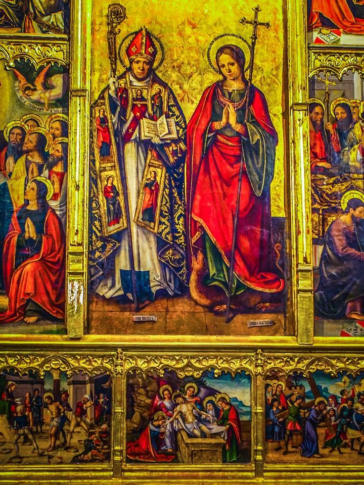 西班牙巴伦西亚主教堂,细细欣赏_图1-18