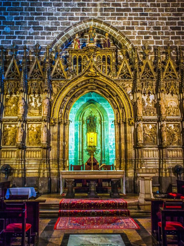 西班牙巴伦西亚主教堂,细细欣赏_图1-14