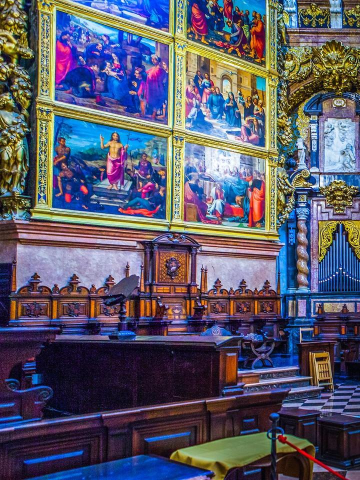西班牙巴伦西亚主教堂,细细欣赏_图1-5