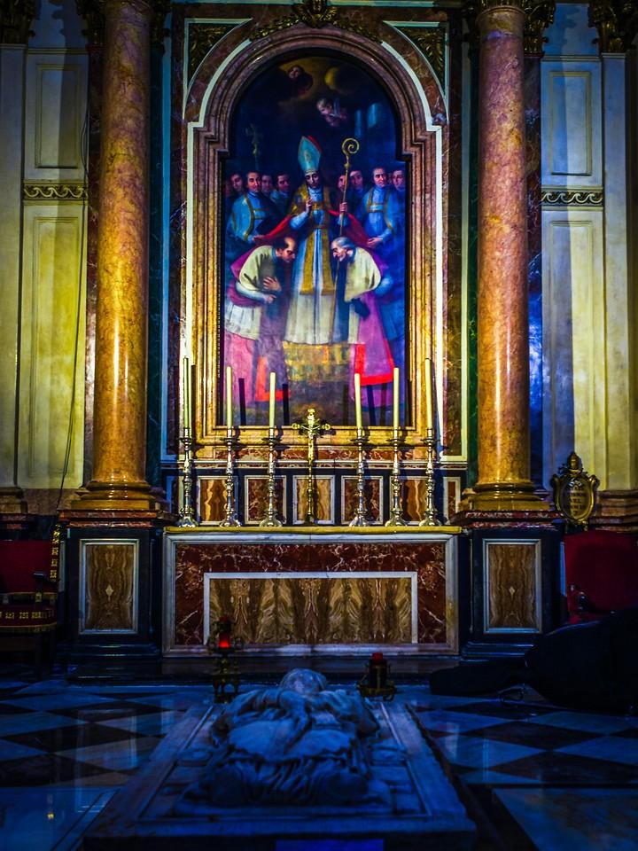 西班牙巴伦西亚主教堂,细细欣赏_图1-2