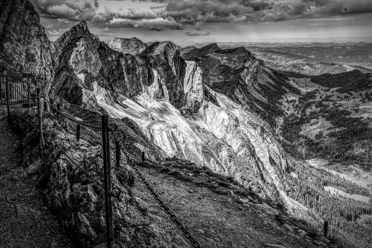 瑞士卢塞恩(Lucerne),眼前的高山_图1-33