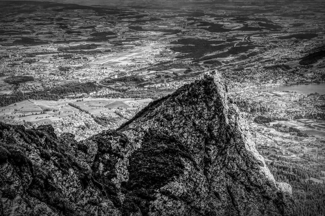 瑞士卢塞恩(Lucerne),眼前的高山_图1-36
