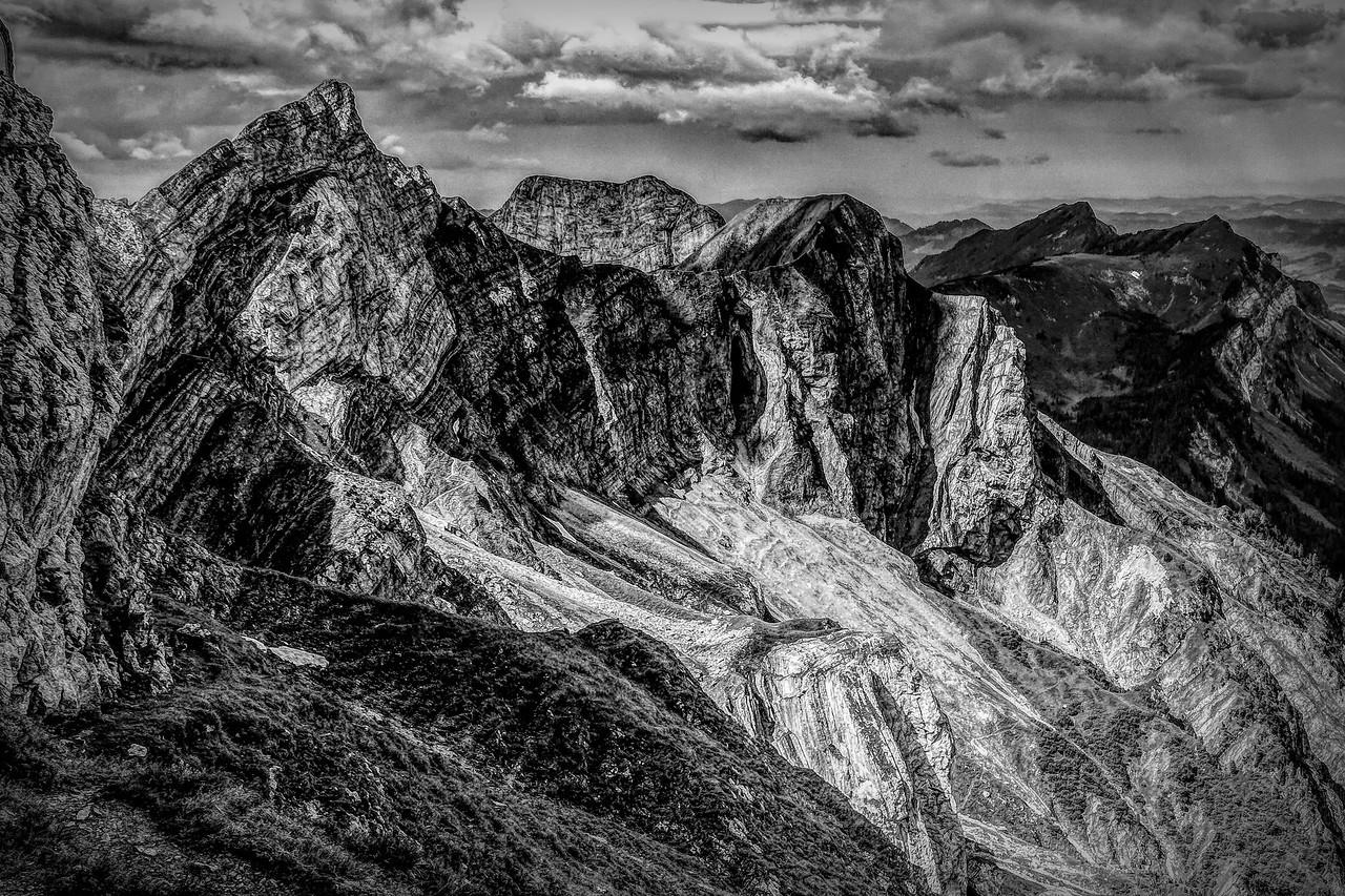 瑞士卢塞恩(Lucerne),眼前的高山_图1-32