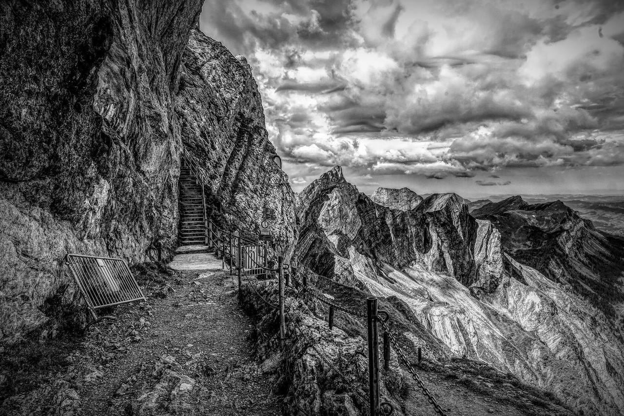 瑞士卢塞恩(Lucerne),眼前的高山_图1-29