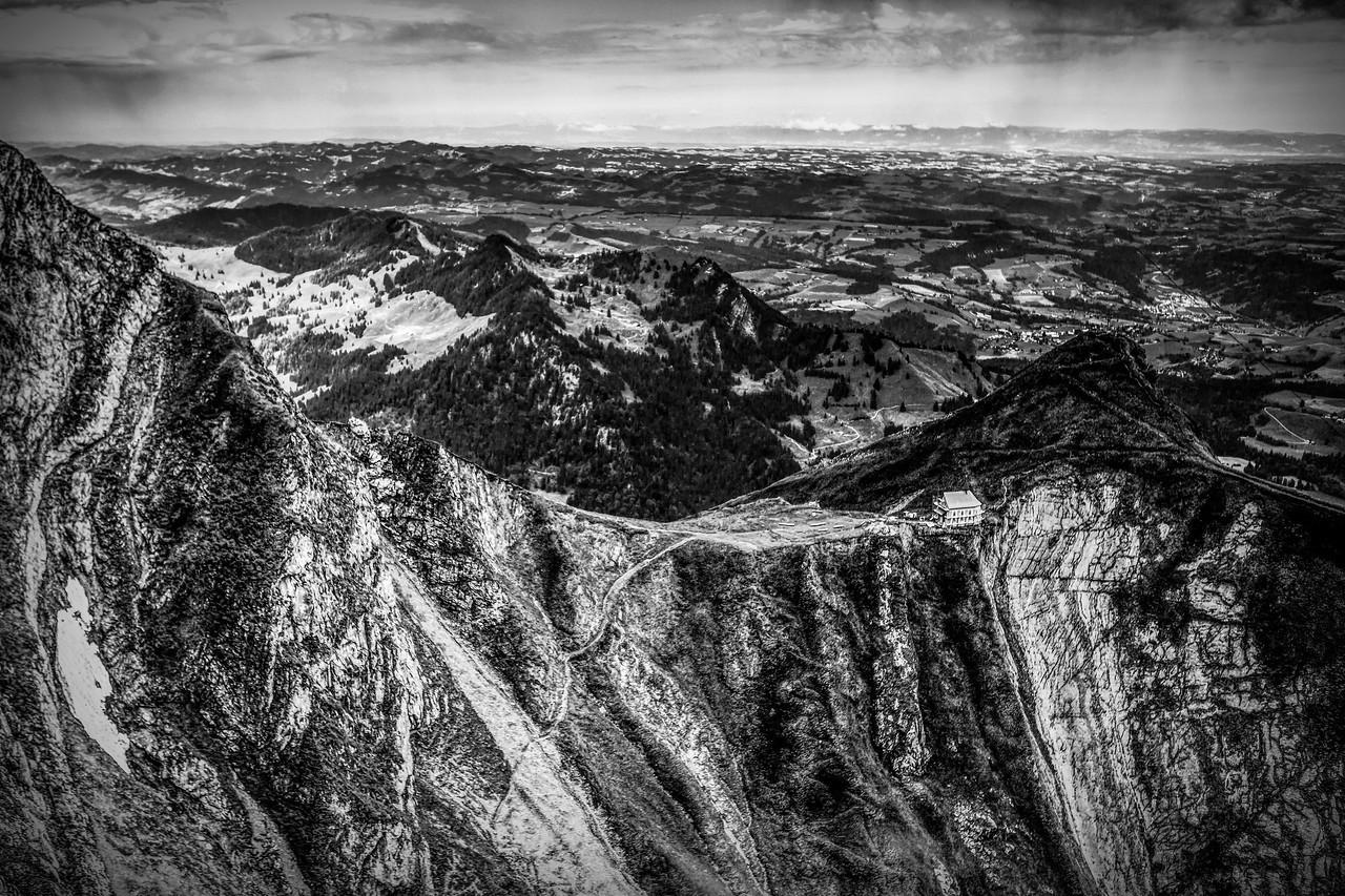 瑞士卢塞恩(Lucerne),眼前的高山_图1-8