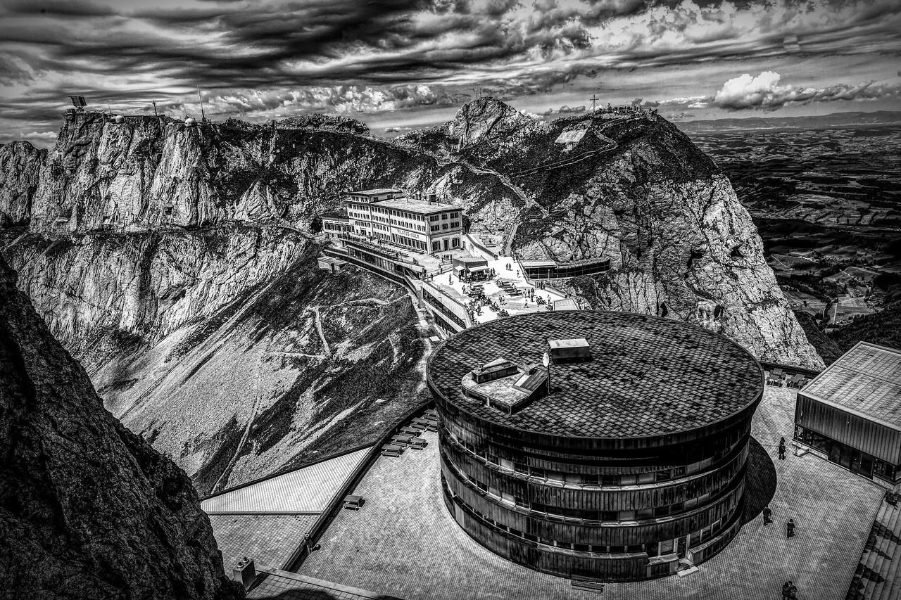 瑞士卢塞恩(Lucerne),眼前的高山_图1-6