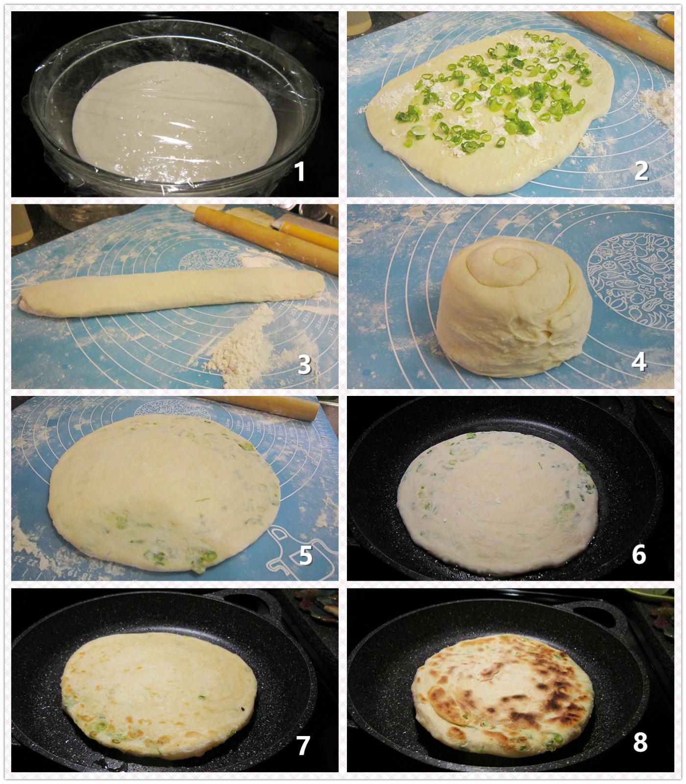 发面葱油饼_图1-2