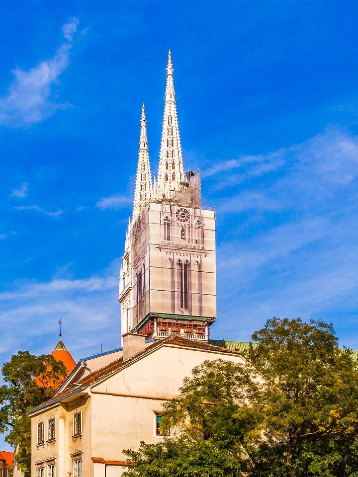 克罗地亚首都萨格勒布(Zagreb),顶的艺术_图1-7