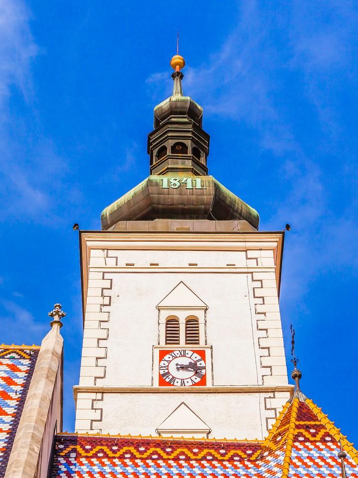 克罗地亚首都萨格勒布(Zagreb),顶的艺术_图1-2