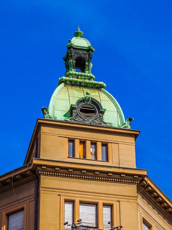 克罗地亚首都萨格勒布(Zagreb),顶的艺术_图1-8