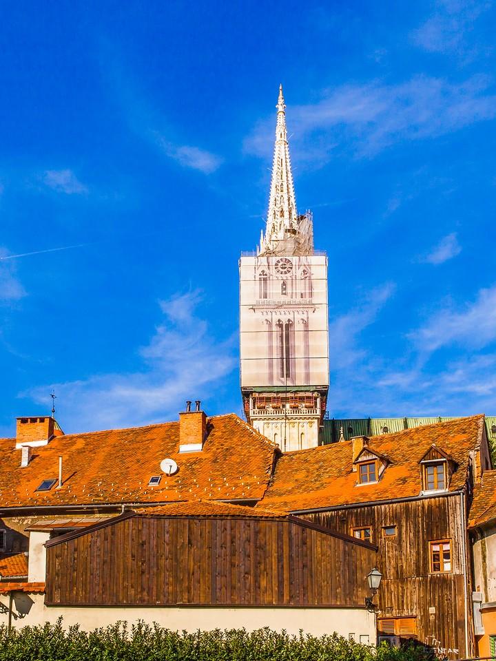 克罗地亚首都萨格勒布(Zagreb),顶的艺术_图1-20