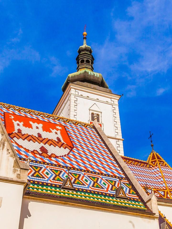 克罗地亚首都萨格勒布(Zagreb),顶的艺术_图1-11