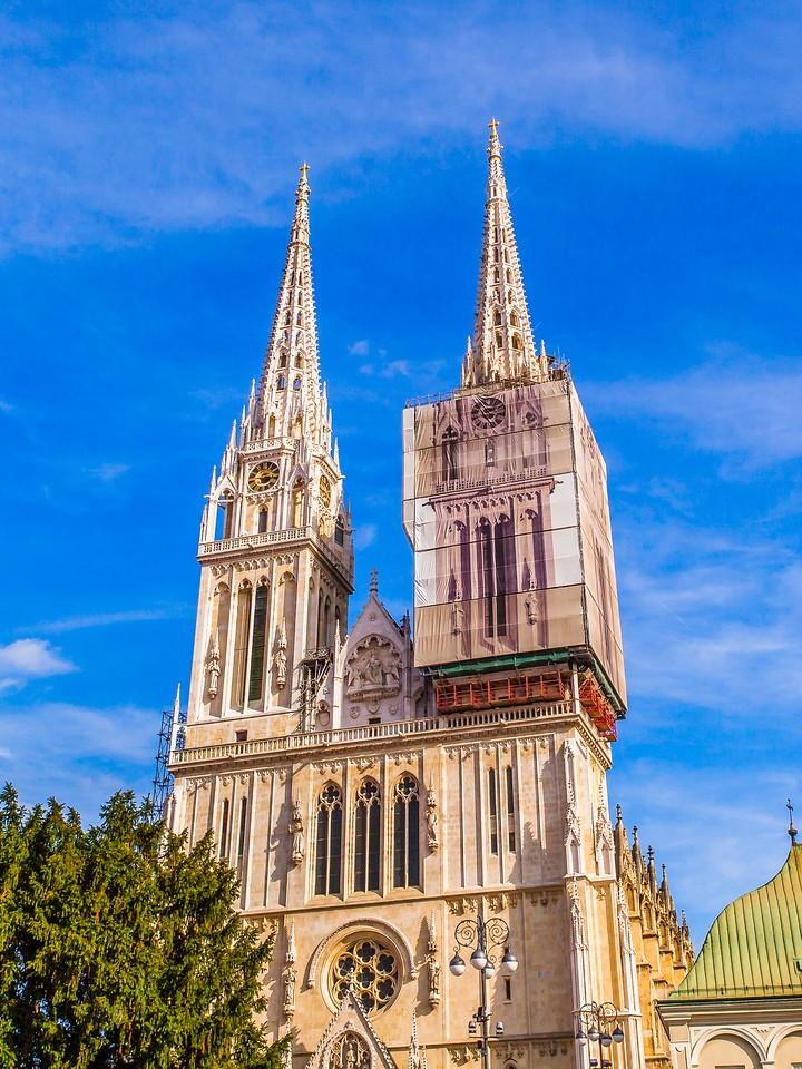 克罗地亚首都萨格勒布(Zagreb),顶的艺术_图1-13