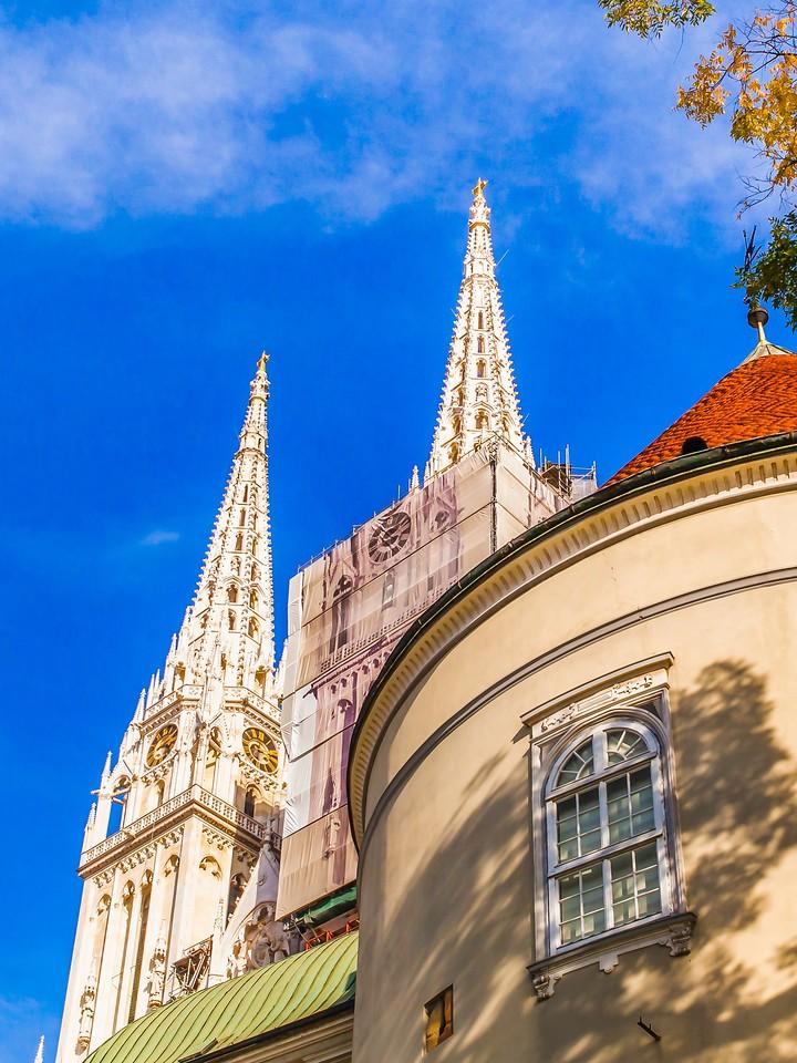 克罗地亚首都萨格勒布(Zagreb),顶的艺术_图1-22