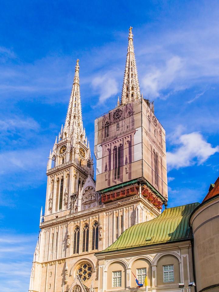 克罗地亚首都萨格勒布(Zagreb),顶的艺术_图1-25