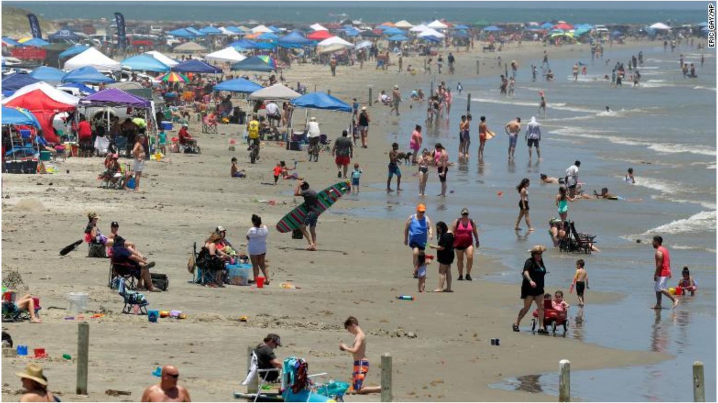 病死人数近10万美国人照样欢度假日_图1-3