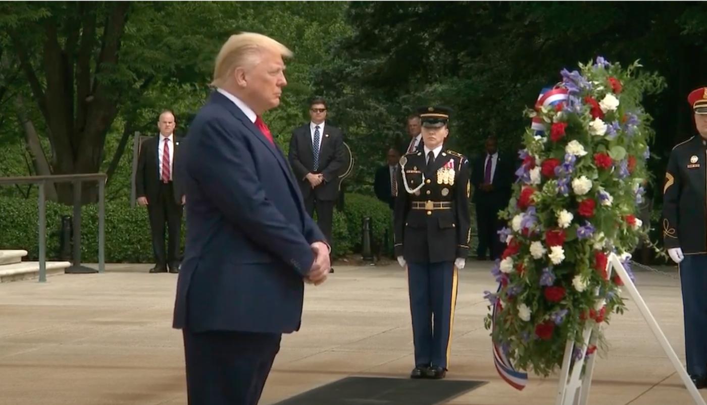 """美国""""阵亡将士纪念日""""和""""国家公墓""""_图1-3"""