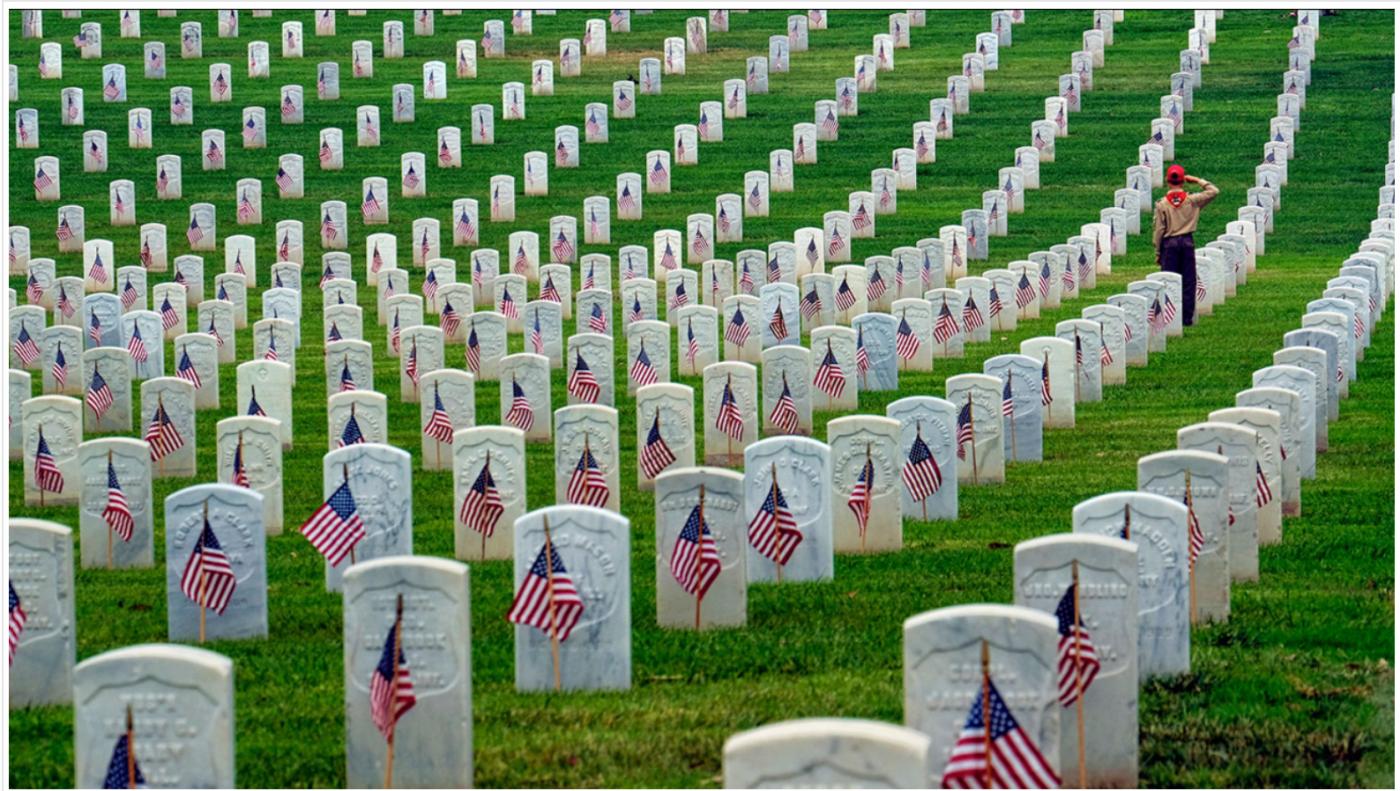 """美国""""阵亡将士纪念日""""和""""国家公墓""""_图1-6"""