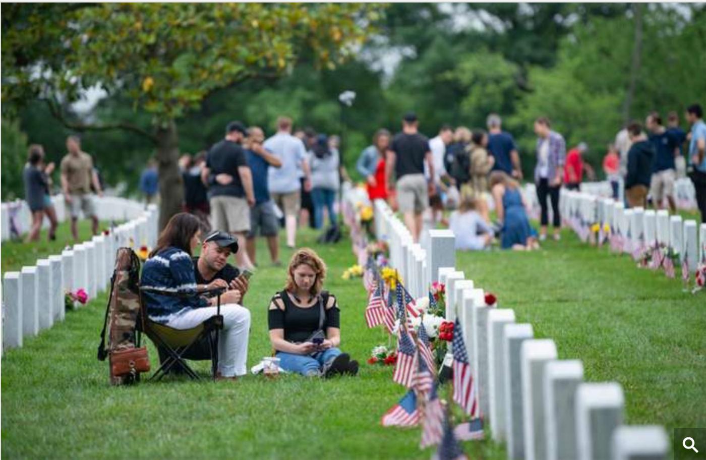 """美国""""阵亡将士纪念日""""和""""国家公墓""""_图1-7"""