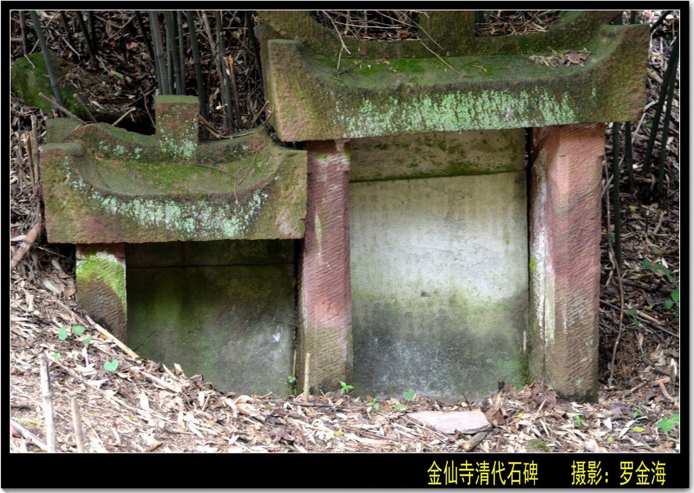 金仙寺游记·七律(下)_图1-17