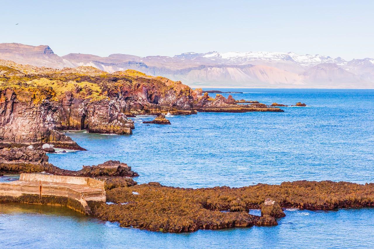 冰岛Arnarstapi,海边的悬崖_图1-7
