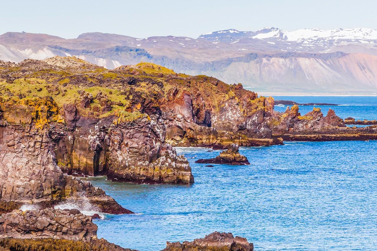 冰岛Arnarstapi,海边的悬崖_图1-8