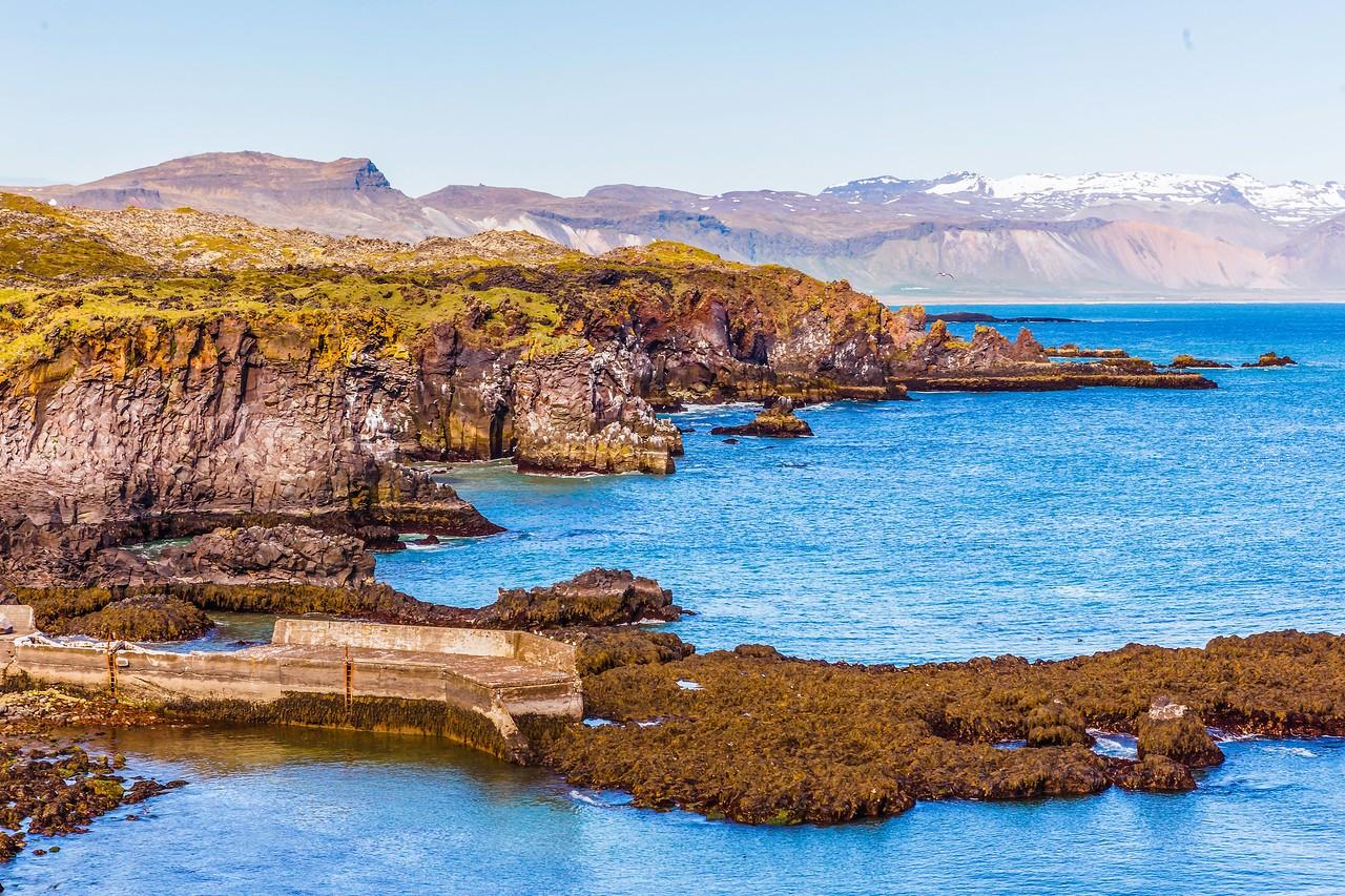 冰岛Arnarstapi,海边的悬崖_图1-12