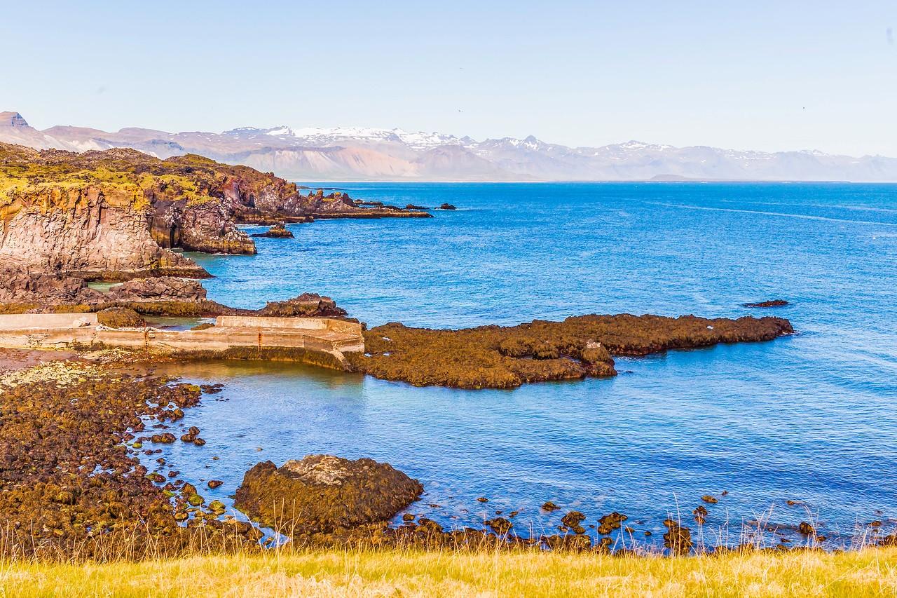 冰岛Arnarstapi,海边的悬崖_图1-10
