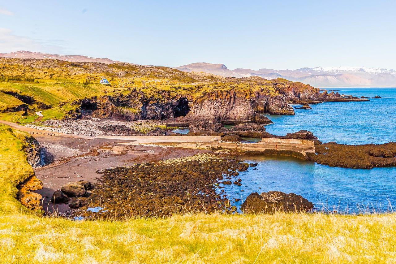 冰岛Arnarstapi,海边的悬崖_图1-9